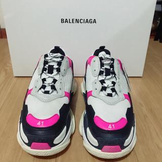 Balenciaga - BALENCIAGA トリプルS ピンク 41