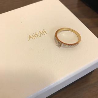 アーカー(AHKAH)のAHKAH ティナハートリング 7号 【アーカー】【AHKAH】【ダイヤリング】(リング(指輪))