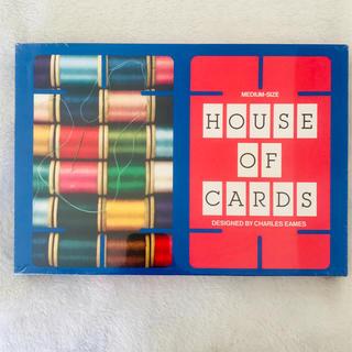 イームズ(EAMES)のハウスオブカード HOUSE OF CARDS イームズ eams 新品未開封(置物)