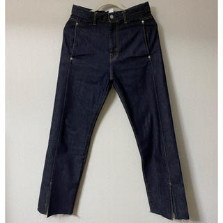 サンシー(SUNSEA)の【size 1】KAIKO BUG DENIM PANT ONE WASH(デニム/ジーンズ)