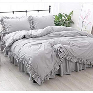 フランフラン(Francfranc)の枕カバーのみ (グレー)(枕)