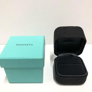 ティファニー(Tiffany & Co.)の🎁💝 ティファニー エンゲージ リングボックス リングケース 箱 BOX(リング(指輪))