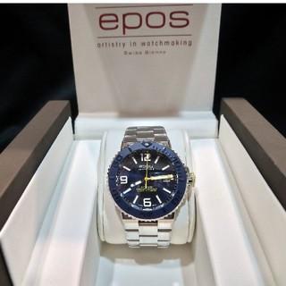 エポス(EPOS)のエポス  EPOS 3441ABLM スポーティブ 500m防水  自動巻き(腕時計(アナログ))