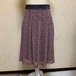 ニジュウサンク(23区)の☆23区☆ プリーツスカート 40  LLサイズ(ひざ丈スカート)