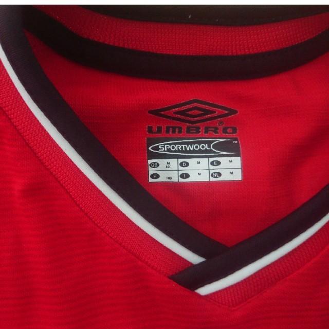 NIKE(ナイキ)のナイキ マンチェスターユナイテッド ベッカム ユニフォーム スポーツ/アウトドアのサッカー/フットサル(ウェア)の商品写真