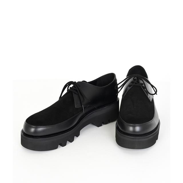 LAD MUSICIAN(ラッドミュージシャン)のU-TIP SHOES 19aw 新品 メンズの靴/シューズ(ドレス/ビジネス)の商品写真