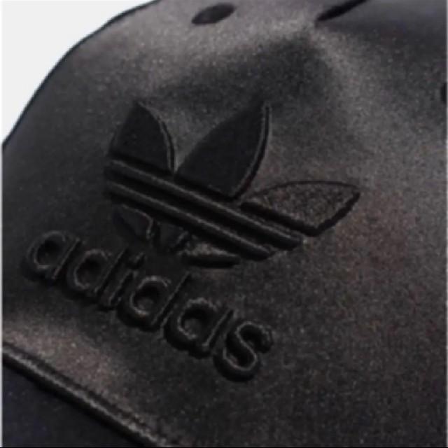 adidas(アディダス)の新品 アディダス キャップ サテン オリジナルス キャップ M 黒 メンズの帽子(キャップ)の商品写真