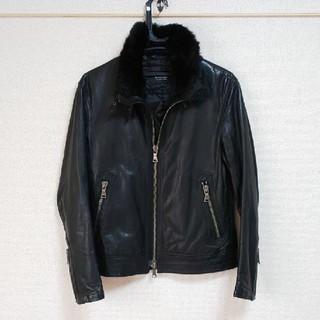 バーバリーブラックレーベル(BURBERRY BLACK LABEL)のバーバリー ブラックレーベルのレザージャケットです(レザージャケット)