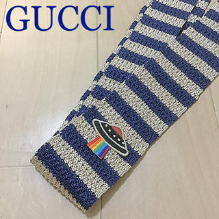 Gucci - 本日価格☆正規品☆GUCCI ニットネクタイ