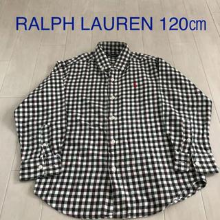 Ralph Lauren - ラルフローレン チェックシャツ120 シャツ120 ラルフ120