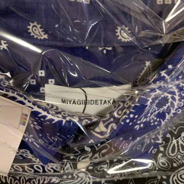 1/24限定発売!MIYAGI HIDETAKA バンダナシャツ メンズのトップス(シャツ)の商品写真