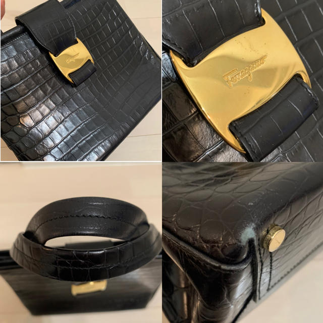 Ferragamo(フェラガモ)の【良品】フェラガモ◆ヴァラ◆ハンドバッグ レディースのバッグ(ハンドバッグ)の商品写真