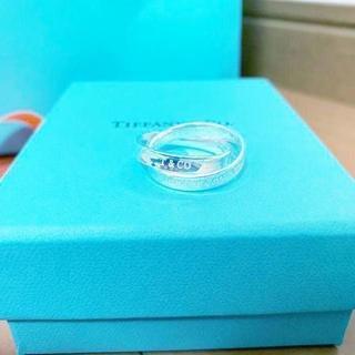 ティファニー(Tiffany & Co.)の☆新品☆未使用☆ティファニー 1837インターロッキング サークル リング 9号(リング(指輪))