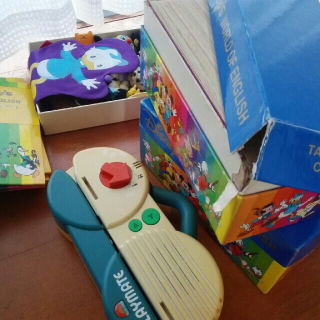 Disney(ディズニー)のワールドファミリー ディズニー英語 キッズ/ベビー/マタニティのおもちゃ(知育玩具)の商品写真