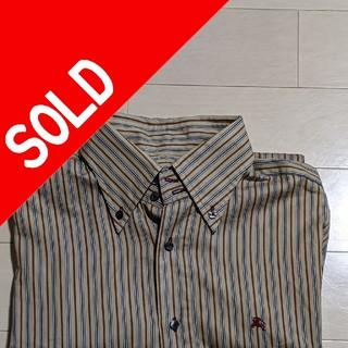 バーバリーブラックレーベル(BURBERRY BLACK LABEL)のBurberryBlackLabelストライプシャツ(シャツ)