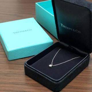 Tiffany & Co. - ティファニー ダイヤネックレス プラチナ
