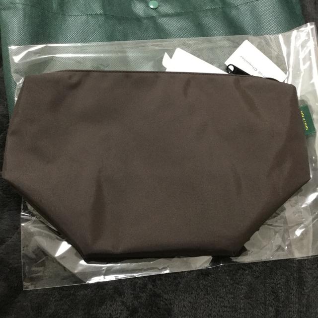 Herve Chapelier(エルベシャプリエ)のエルベシャプリエ ビッグポシェット ダークブラウン レディースのバッグ(ショルダーバッグ)の商品写真