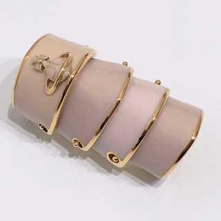 ヴィヴィアンウエストウッド(Vivienne Westwood)の美品 ヴィヴィアンウエストウッド アーマーリング アルテミス ピンクベージュ(リング(指輪))