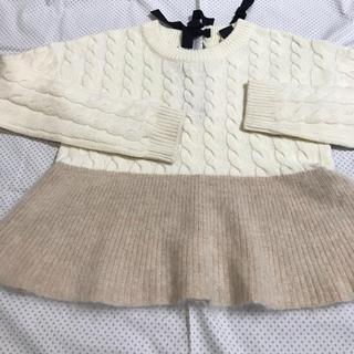 ダブルスタンダードクロージング(DOUBLE STANDARD CLOTHING)のDOUBLE  STANDARD  CLOTHING 切り替えセーター(ニット/セーター)