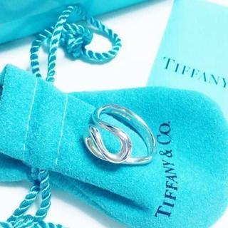 Tiffany & Co. - ☆新品☆未使用☆ティファニー オープンウェーブリング 10号