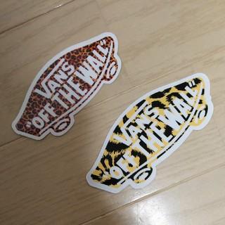 ヴァンズ(VANS)の☆新品VANSバンズ/2種類/ステッカー/シール/スケートボード☆(スケートボード)