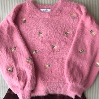 dazzlin - ダズリンふわふわ可愛いセーター