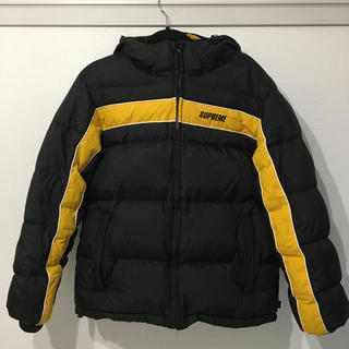 シュプリーム(Supreme)のSUPREME 18AW Stripe Panel Down Jacket M (ダウンジャケット)