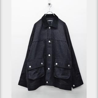 ワンエルディーケーセレクト(1LDK SELECT)のelephant TRIBAL fabrics ハンティングJKT- BLACK(ブルゾン)