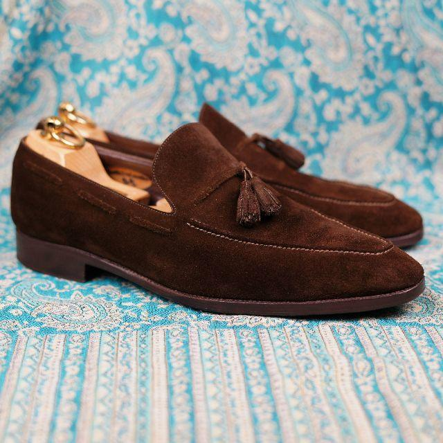 ENZO BONAFE(エンツォボナフェ)の定価約10万 Enzo Bonafe エンツォ ボナフェ ハンドソーン 九分仕立 メンズの靴/シューズ(ドレス/ビジネス)の商品写真