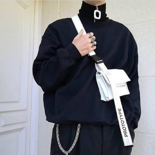ZARA(ザラ)のネックウォーマー lampoジッパー 韓国 菅田将暉 dude9 メンズのファッション小物(マフラー)の商品写真