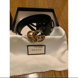Gucci - GUCCI 3センチ幅 85cmベルト