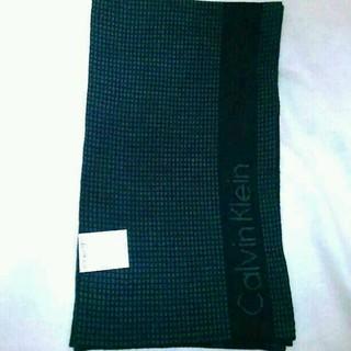 カルバンクライン(Calvin Klein)の新品、未使用のカルバンクラインのマフラー(マフラー/ショール)