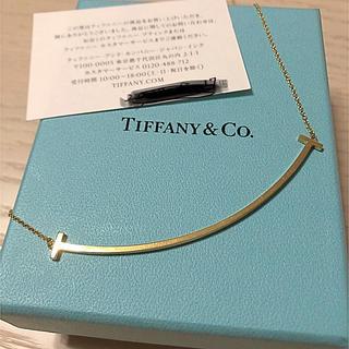Tiffany & Co. - ティファニー Tスマイル k18YG ラージ