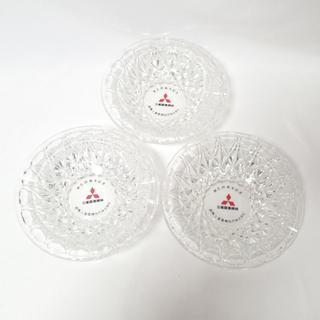 ミツビシ(三菱)のCA456 クリスタルガラス 灰皿 三菱農業機械 創立20周年記念(タバコグッズ)