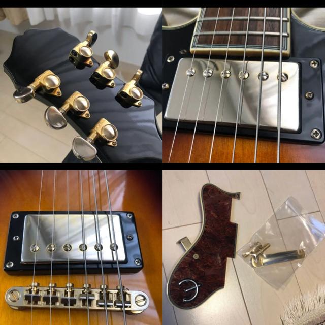 Epiphone(エピフォン)のEpiphone Sheraton II (2010年製) 左利き lefty 楽器のギター(エレキギター)の商品写真