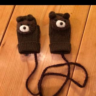 紐つき 手袋