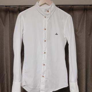 Vivienne Westwood - vivienne westwood man/変形襟ドレスシャツ