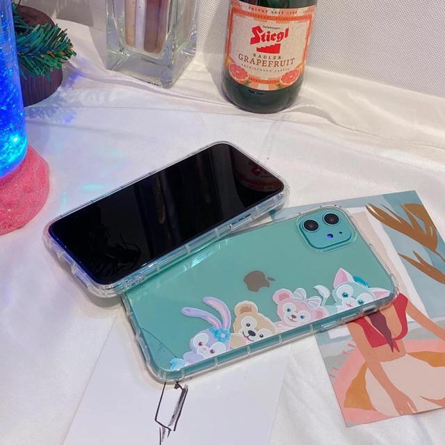 Disney(ディズニー)の右側ディズニー ダッフィー&フレンズ  iPhone11 スマホ/家電/カメラのスマホアクセサリー(iPhoneケース)の商品写真