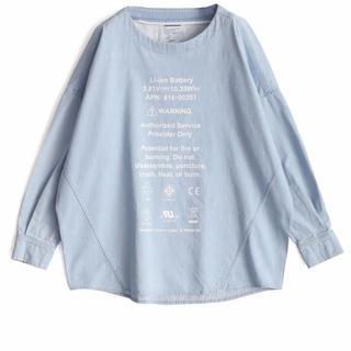 シャリーフ(SHAREEF)のデニムプルオーバー SHAREEF(Tシャツ/カットソー(七分/長袖))