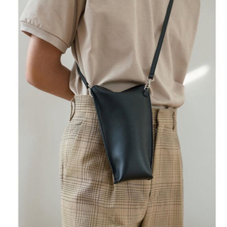 CLANE HOMME クラネ  LEATHER TUBE BAG
