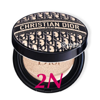 Christian Dior - 限定☆ ディオールスキン フォーエバークッション 2N ディオールマニア☆