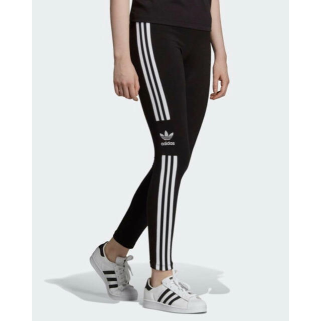 adidas(アディダス)のアディダス adidas Originals TREFOIL TIGHTS S レディースのレッグウェア(レギンス/スパッツ)の商品写真
