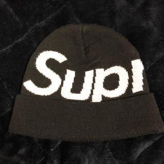 Supreme - supreme beanie キャップ ブラック
