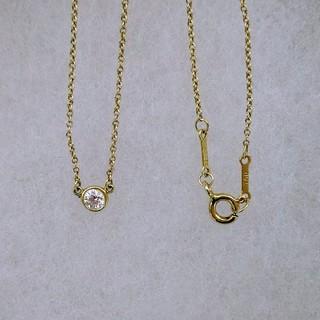 Tiffany & Co. - ティファニー バイザヤード ダイヤモンドネックレス YG