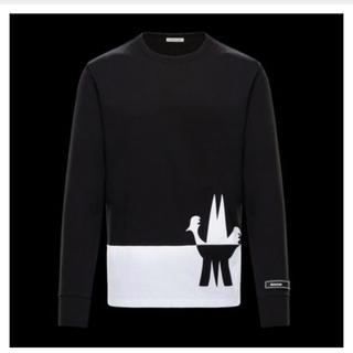 モンクレール(MONCLER)のMONCLER    M字型ビックロゴ入り長袖Tシャツ(Tシャツ/カットソー(七分/長袖))