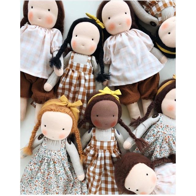 Caramel baby&child (キャラメルベビー&チャイルド)の専用♡Little Kin Studio Waldorf doll large キッズ/ベビー/マタニティのおもちゃ(ぬいぐるみ/人形)の商品写真