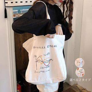 ❀ トートバッグ 2way 肩掛けバッグ ハンドバッグ 旅行 通学 エコバッグ(トートバッグ)