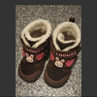 ミキハウス(mikihouse)のミキハウス ブーツ 13(ブーツ)