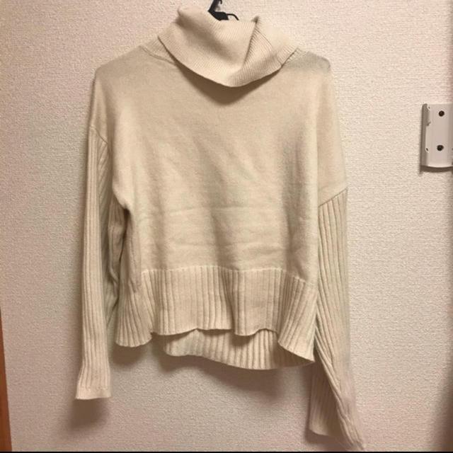 mystic(ミスティック)のmystic 袖リブゆったりタートルニット レディースのトップス(ニット/セーター)の商品写真