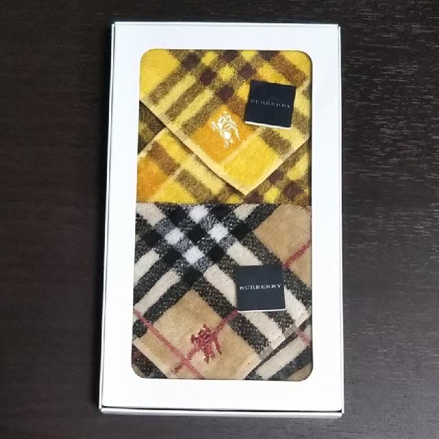 BURBERRY(バーバリー)の【C様専用】BURBERRY タオルハンカチ レディースのファッション小物(ハンカチ)の商品写真